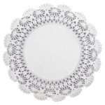 10″ WHITE LACE DOILIES 500/PACK